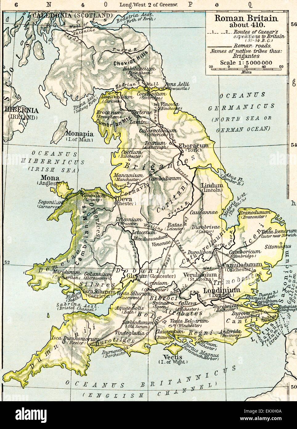 Map Of England King Arthur.Roman Britain Stock Photos Roman Britain Stock Images Alamy