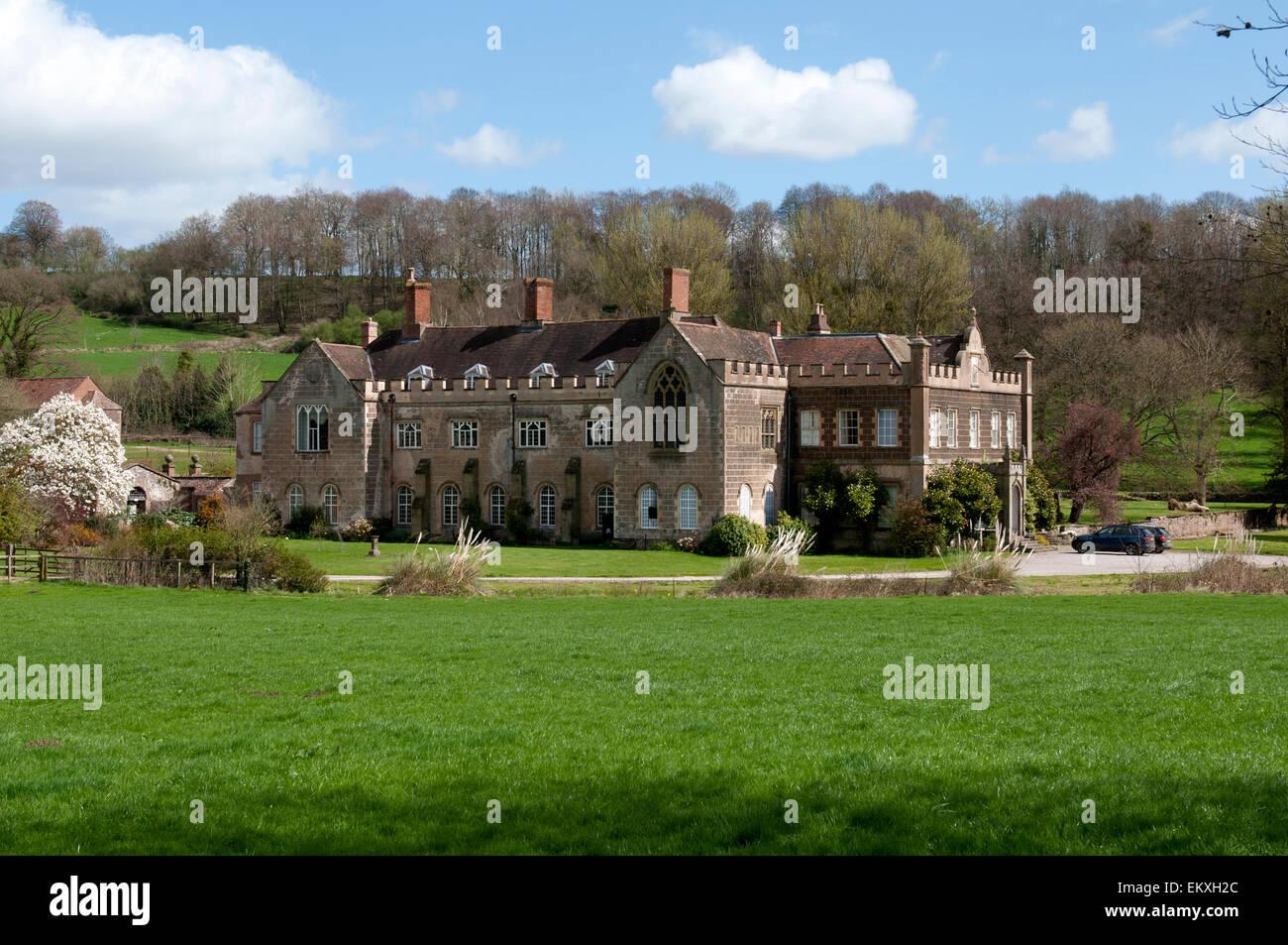 Flaxley Abbey, Gloucestershire, England, UK - Stock Image
