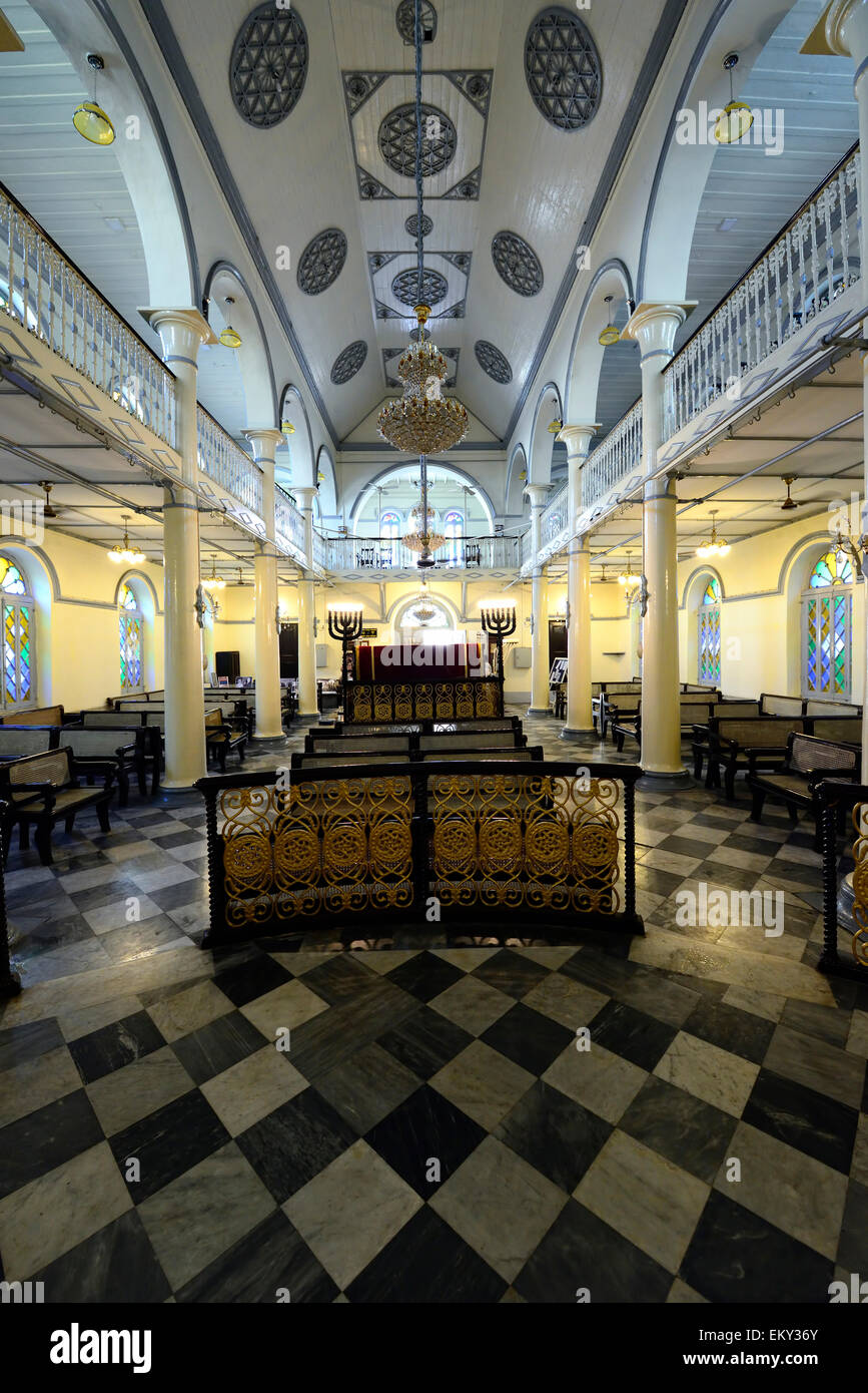 The Synagogue in Yangon, Myanmar - Stock Image