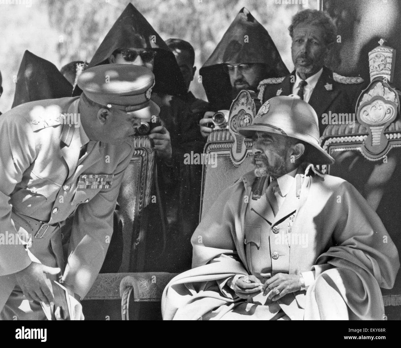 HAILE SELASSIE (1892-1975) Etheopian Regent about 1962 - Stock Image