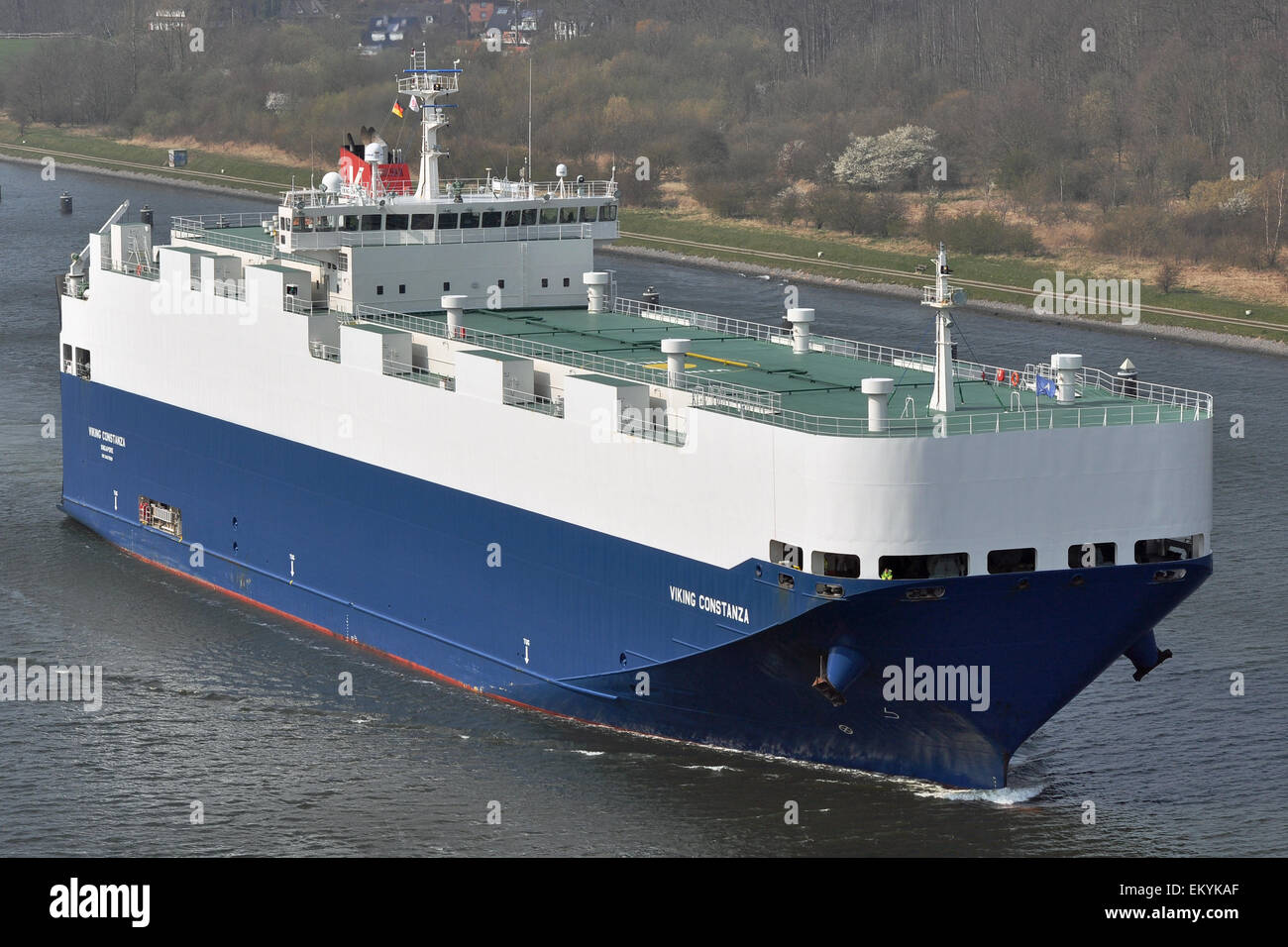Carcarrier Viking Constanza - Stock Image