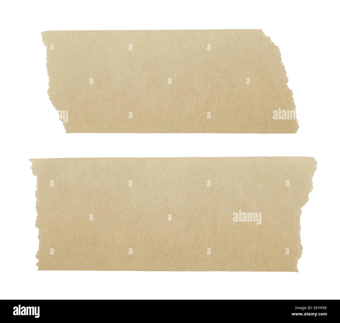 masking tape isoletd on white background - Stock Image