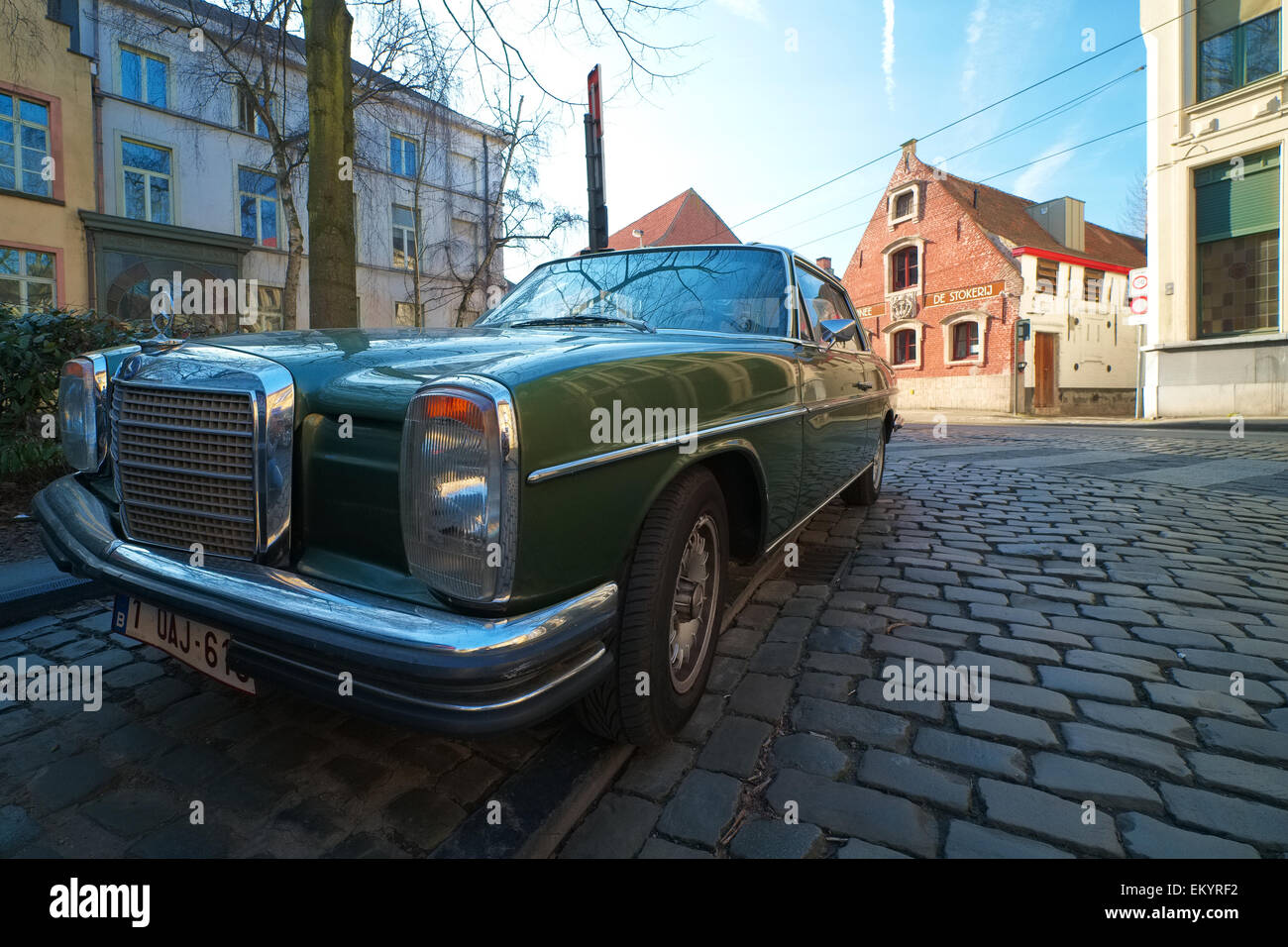Old Mercedes Stock Photo