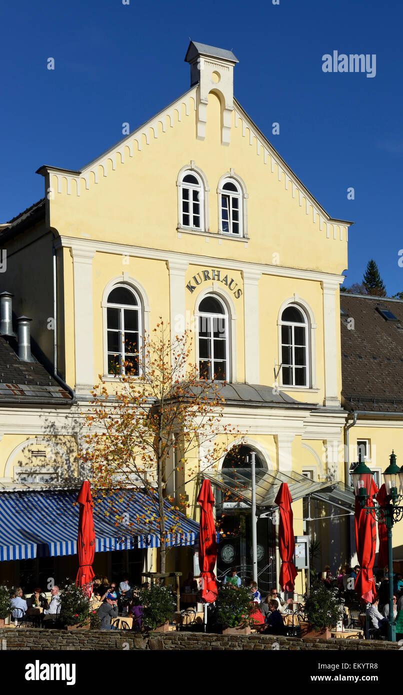 Kurhaus, Bad Aussee, Ausseerland, steirisches Salzkammergut, Steiermark, …sterreich, Europa Stock Photo