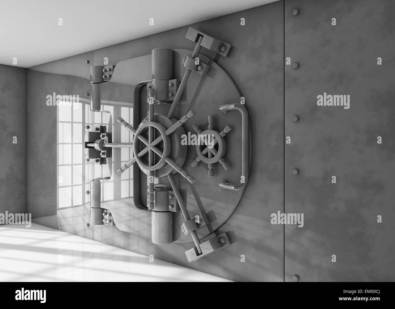 Vault - Stock Image
