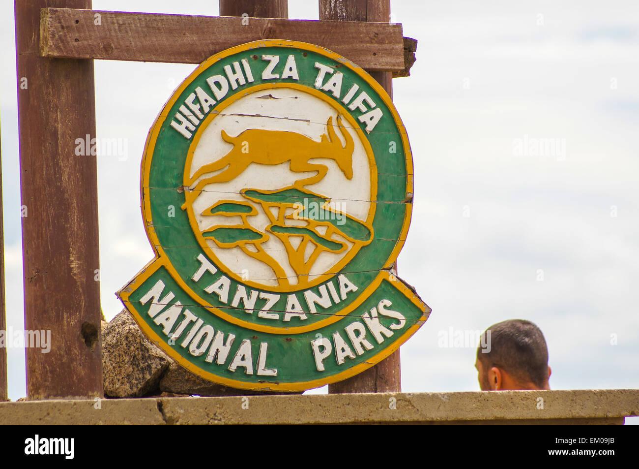 Hifadhi za taifa, Tanzania national park - Stock Image