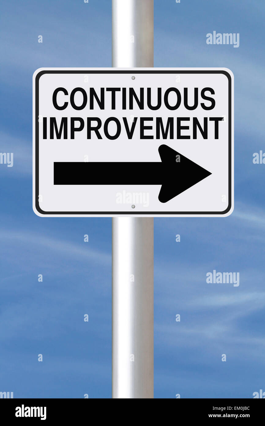 Continuous Improvement - Stock Image