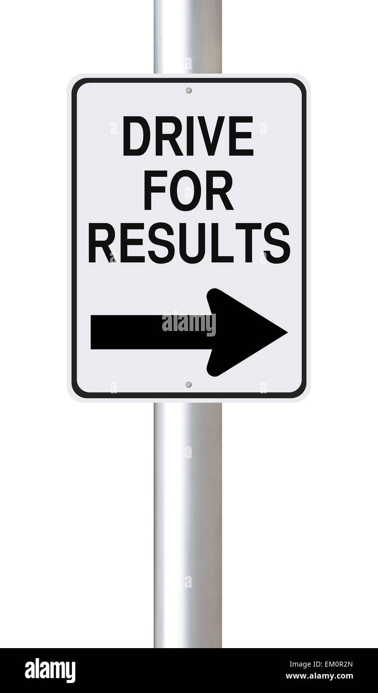 Drive For Results Stock Photo: 81152701