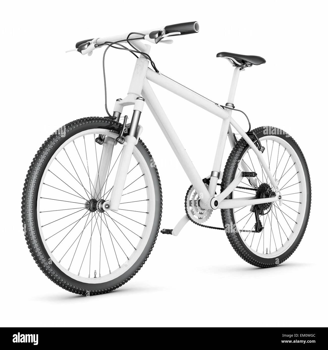 mountain bike - Stock Image