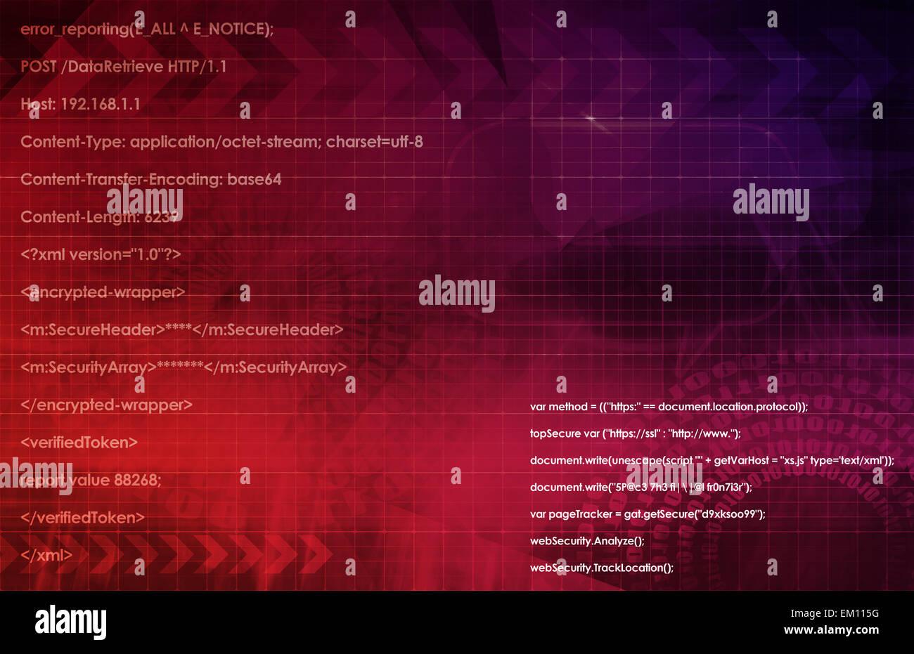 Web Application System - Stock Image