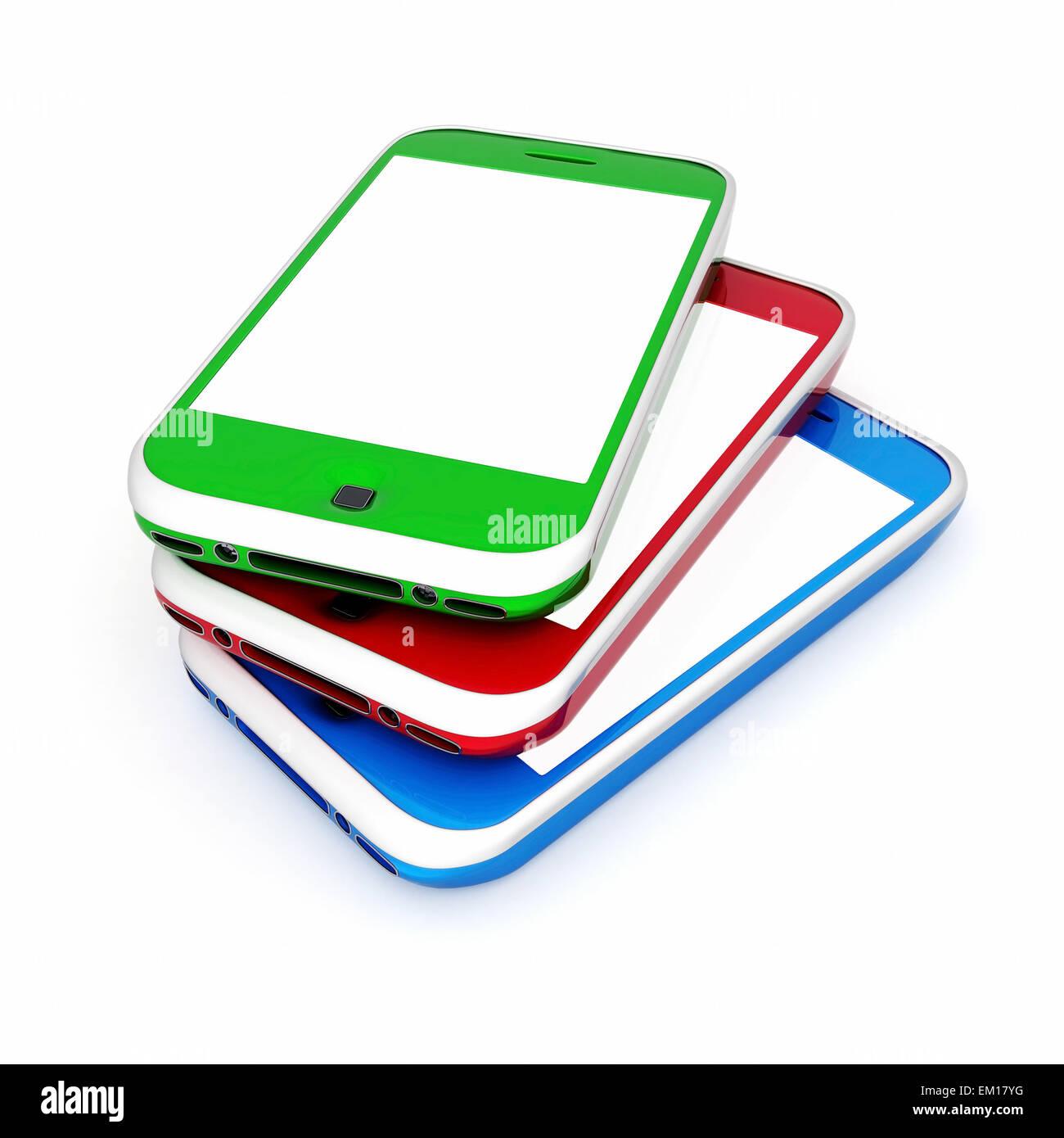 Image smartphone - Stock Image