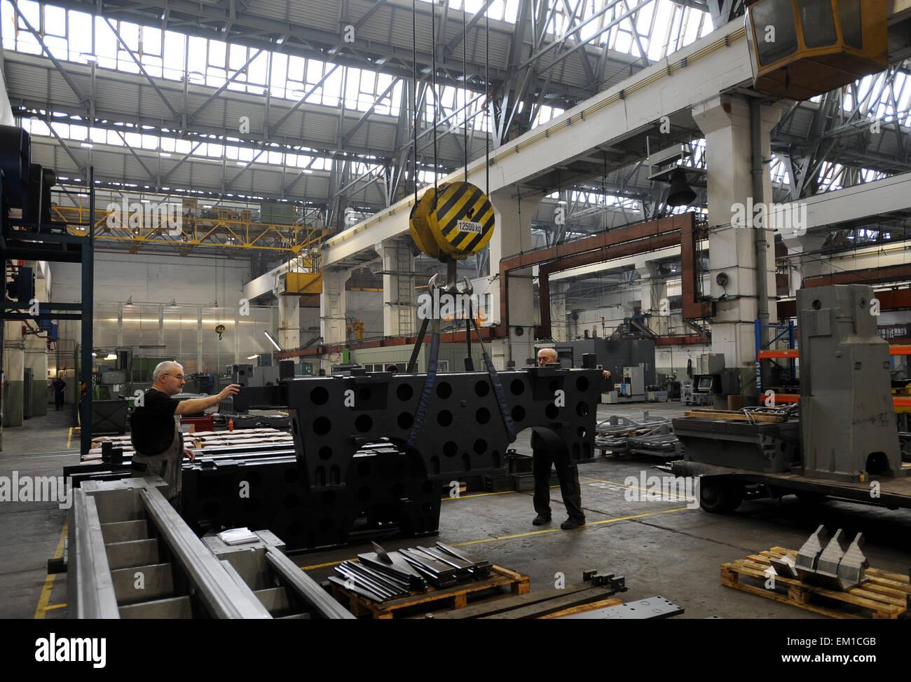 Czech-Russian MTE KOVOSVIT MAS Enterprise in Russian Azov earned about one billion Czech crowns last year, said - Stock Image
