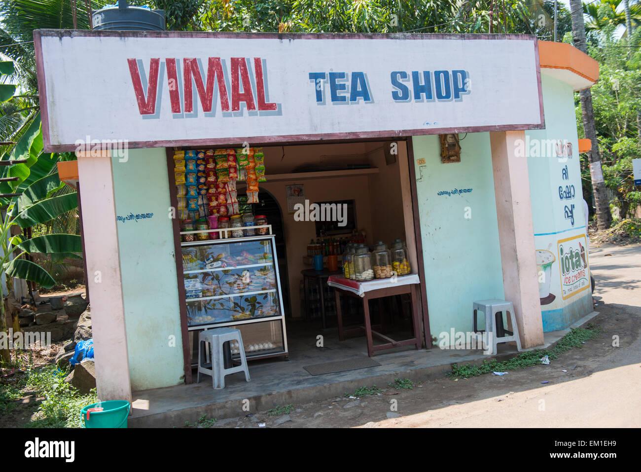 Kerala Tea Shop High Resolution Stock Photography And Images Alamy