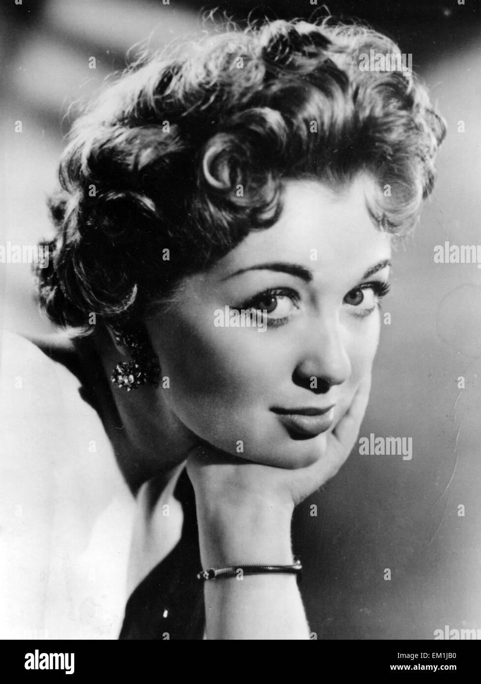 MARION RYAN (1931-1999) English pop singer about  1958 - Stock Image