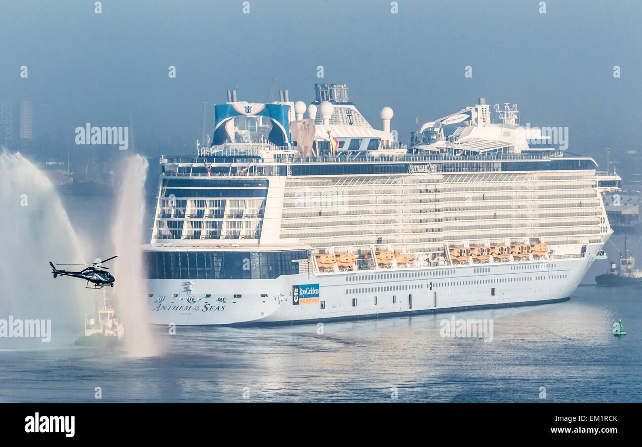 Royal Caribbean Cruise Lines Newest Vessel Anthem Of The Seas