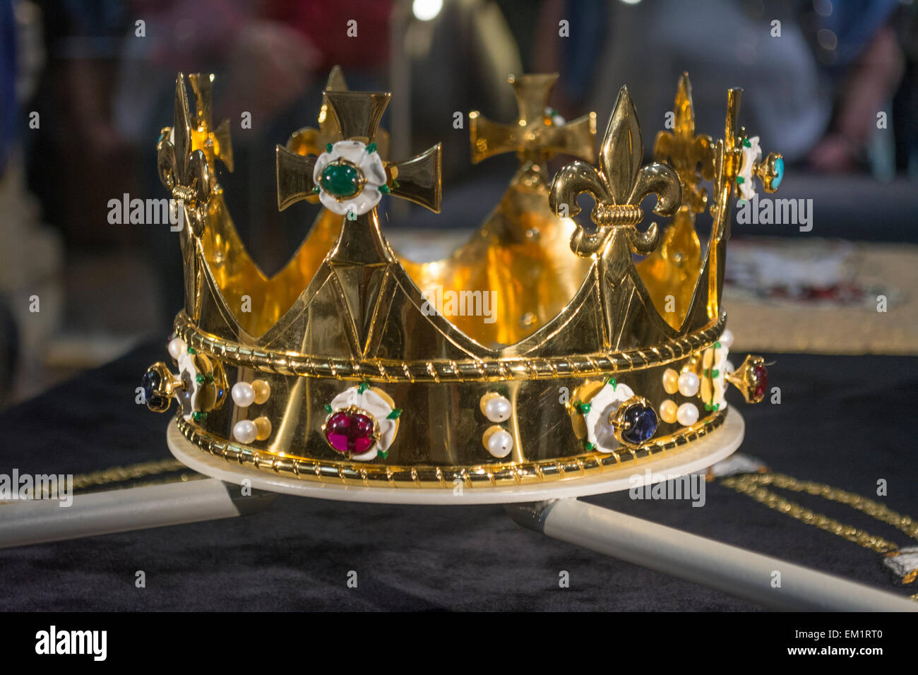 replica crown stock photos replica crown stock images alamy. Black Bedroom Furniture Sets. Home Design Ideas