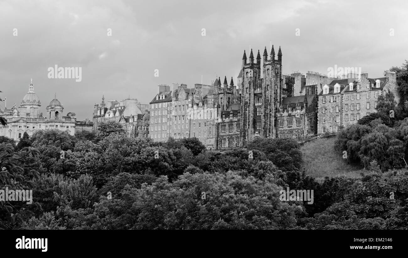 New College, University of Edinburgh, Edinburgh, Scotland, UK - Stock Image