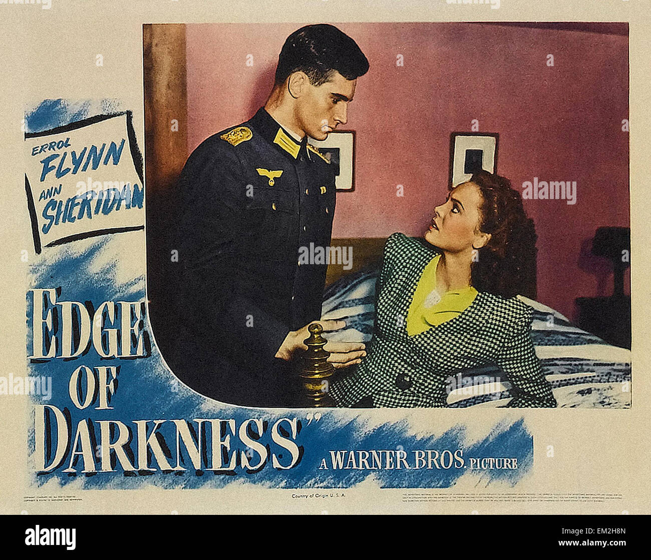 Edge of Darkness  - Movie Poster - Stock Image