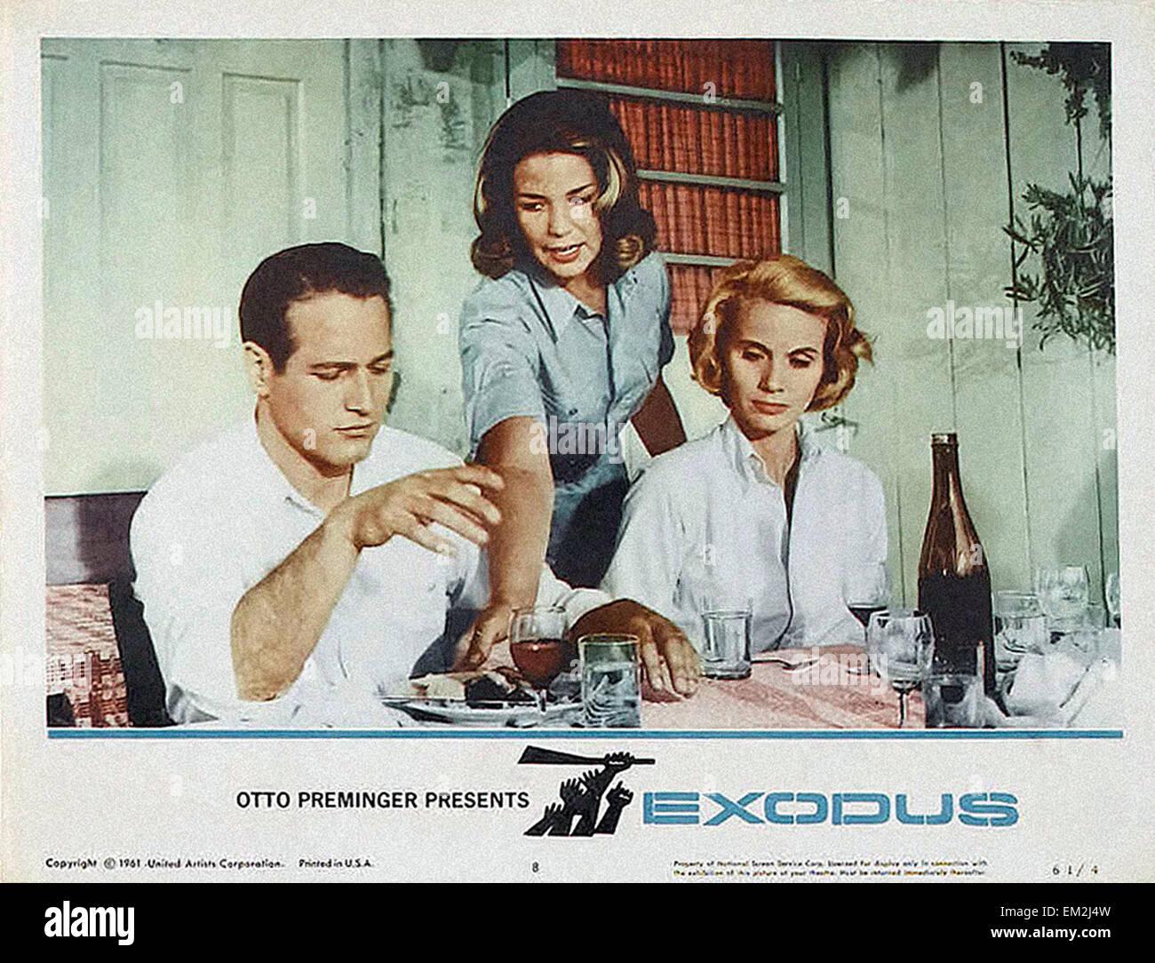 Exodus - Movie Poster - Stock Image