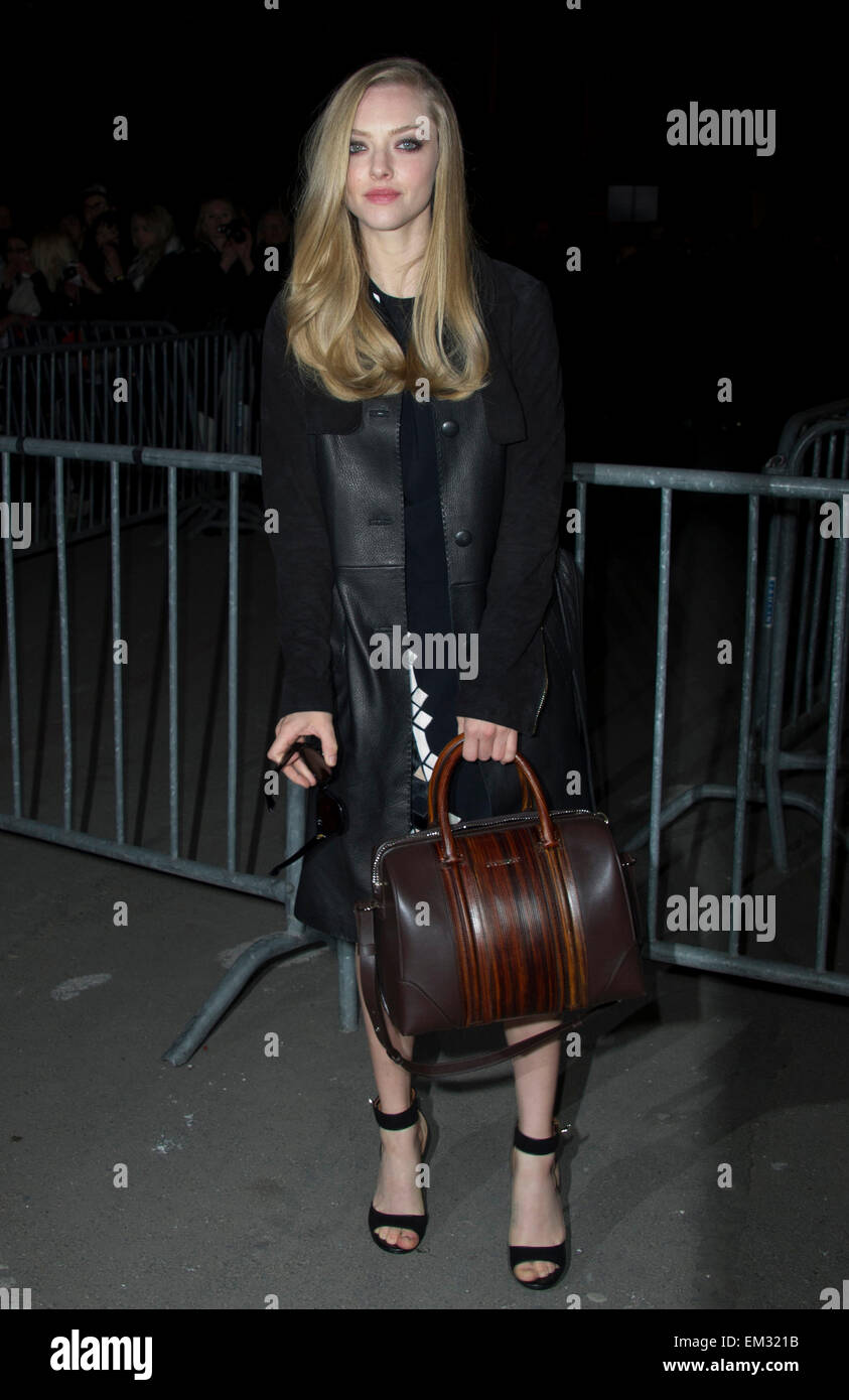 ae445b344ea2 PARIS AMANDA SEYFRIED ATTENDS GIVENCHY S FALL-WINTER 2013-2014  READY-TO-WEAR COLLECTION SHOW HELD AT HALLE FREYSSINET IN PARIS.