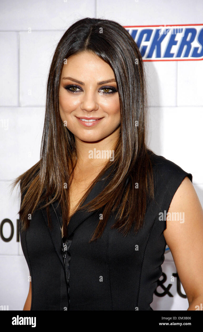 02.JUNE.2012. LOS ANGELES    MILA KUNIS AT THE SPIKE TV'S 6TH ANNUAL 'GUYS CHOICE' AWARDS HELD AT THE SONY STUDIOS Stock Photo