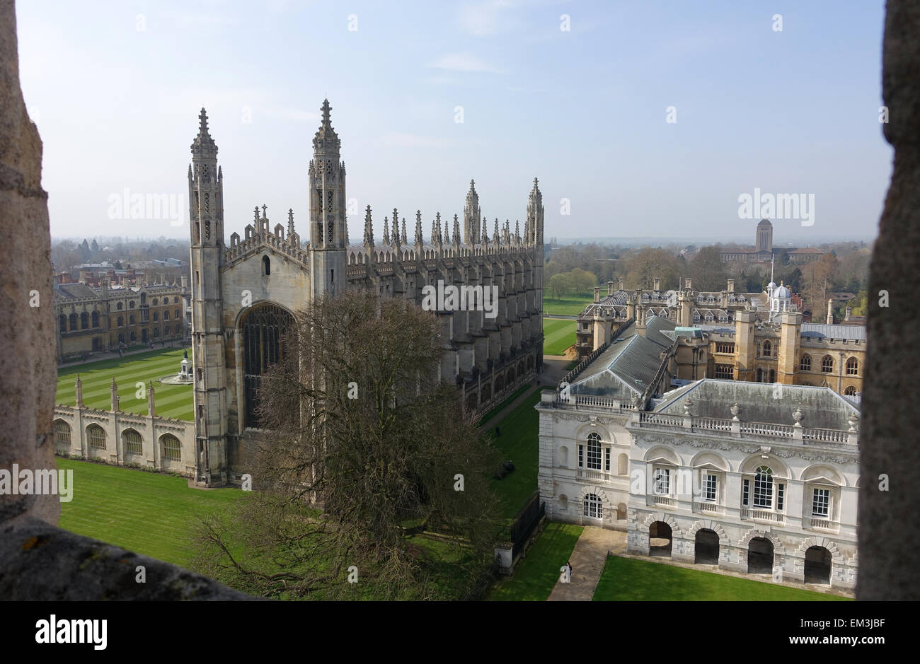 Kings College Cambridge - Stock Image