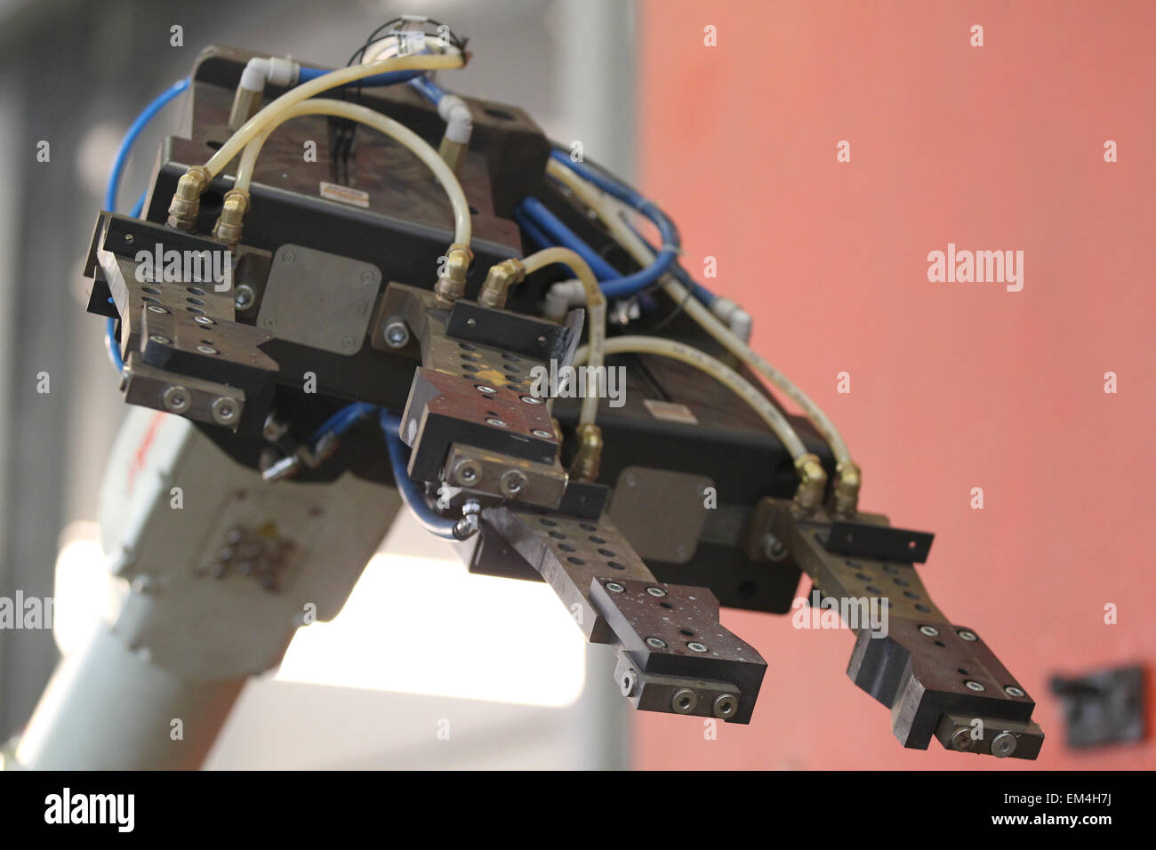 element of an industrial robot for manipulation - Stock Image
