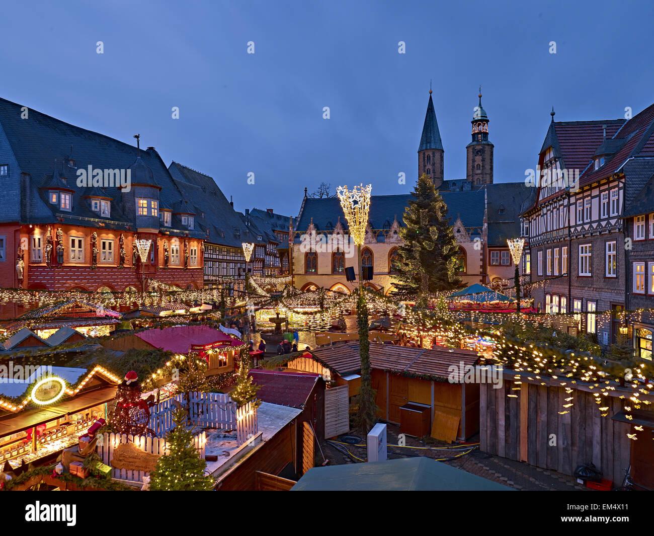 Goslar Christmas Market 2021 Christmas Market In Goslar Germany Stock Photo Alamy