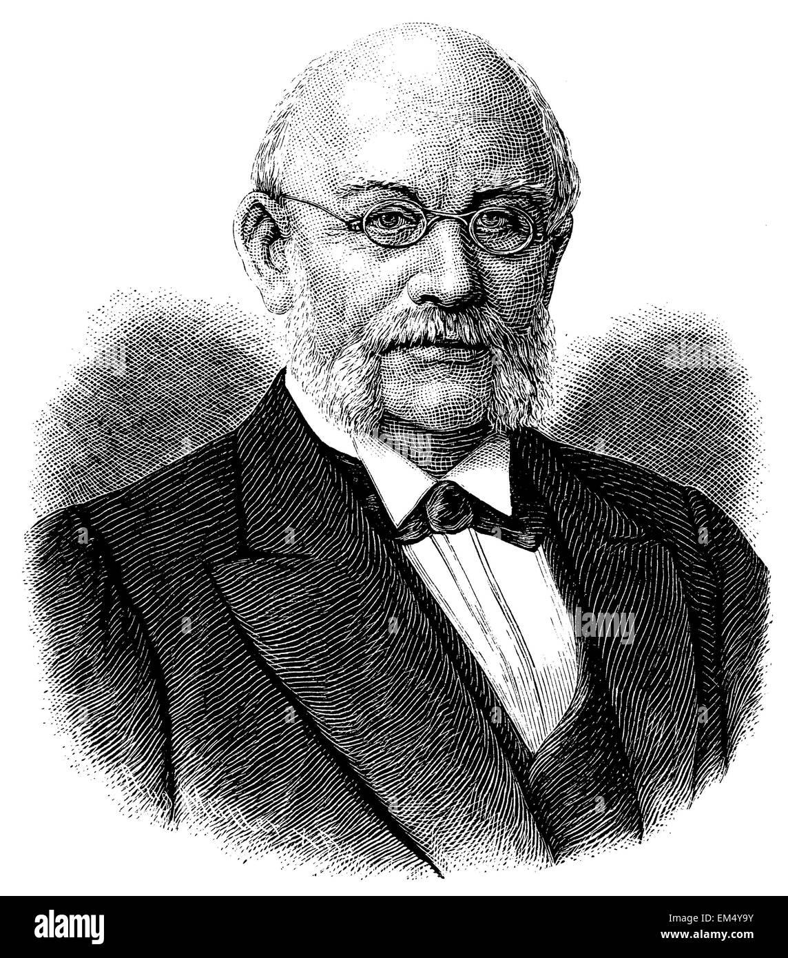 Rudolph Gneist (born August 13, 1816 ) Stock Photo