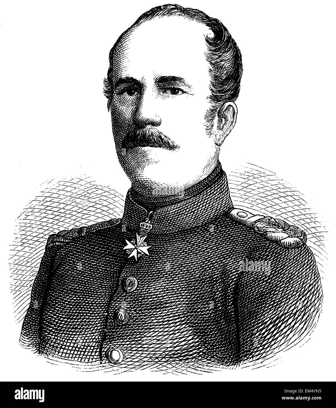 Karl Eberhard Herwarth of Bittenfeld - Stock Image