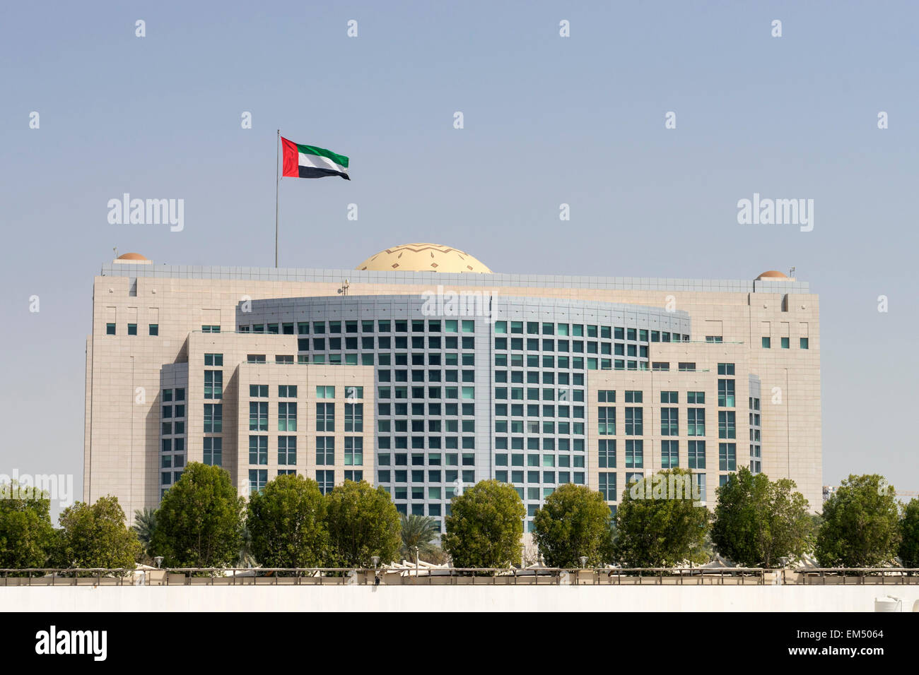 Ministry of Foreign Affairs in Abu Dhabi United Arab Emirates - Stock Image