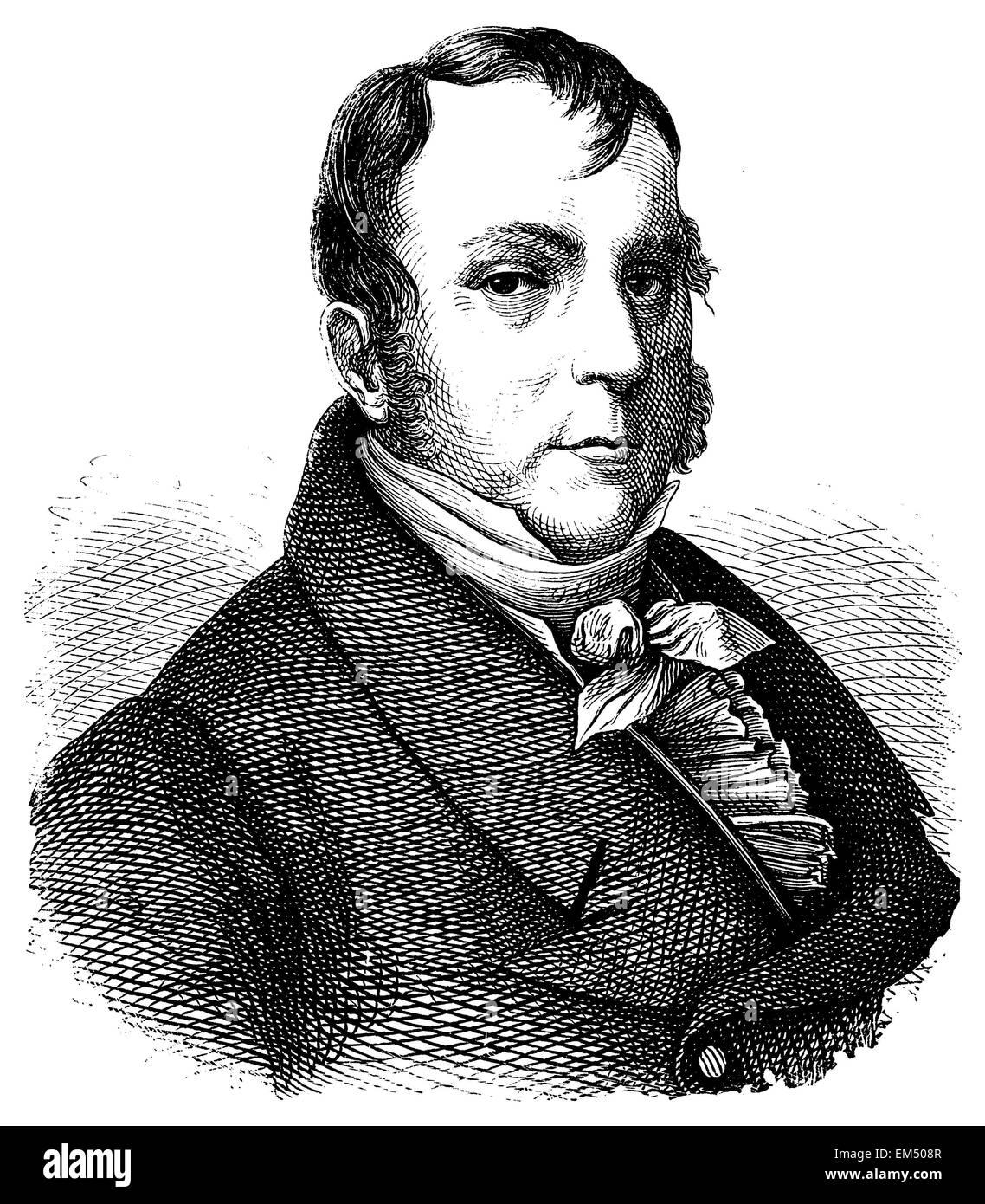 Johann Nepomuk Hummel - Stock Image