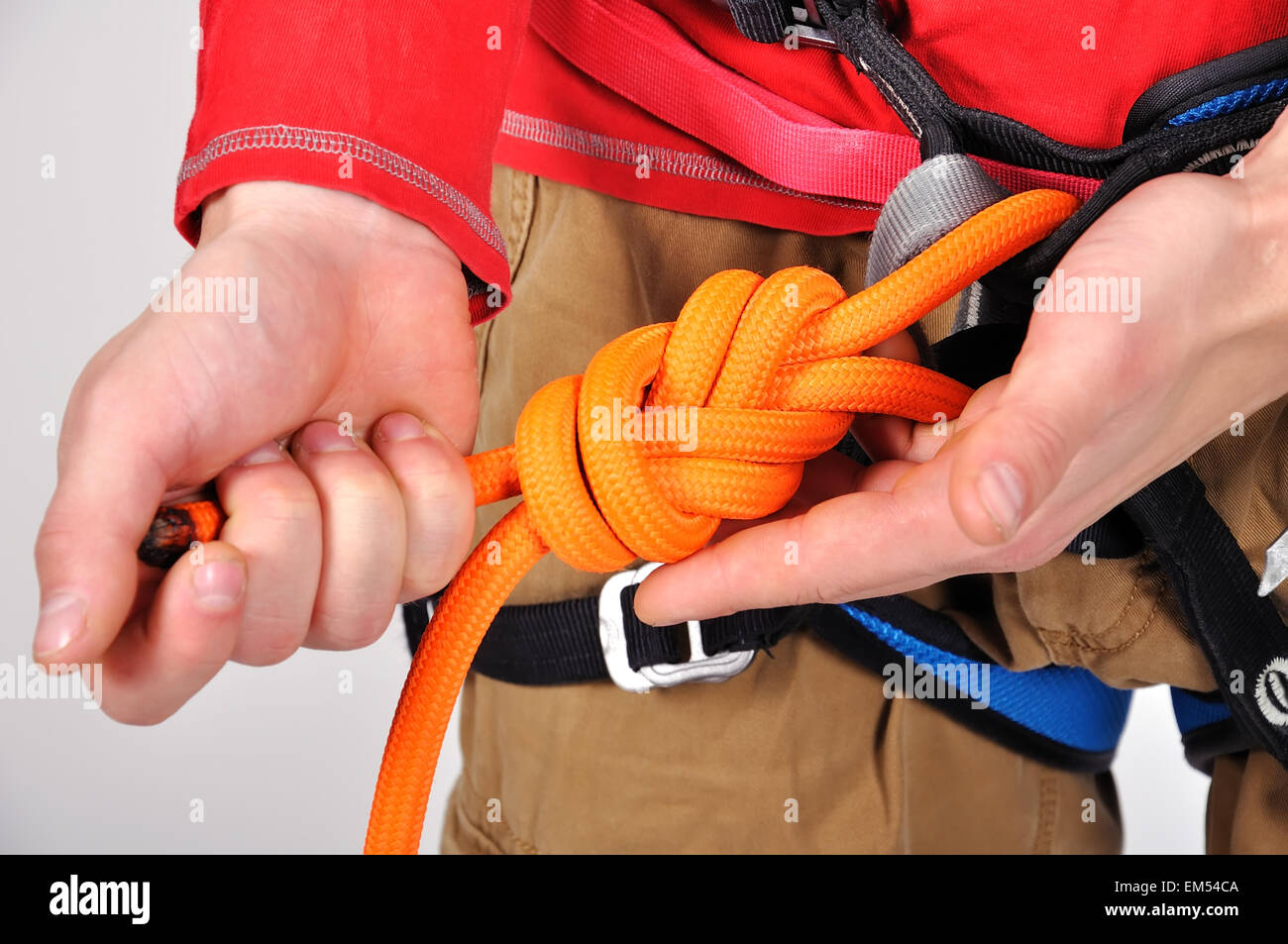 How to knit bowline knots: instructions 47