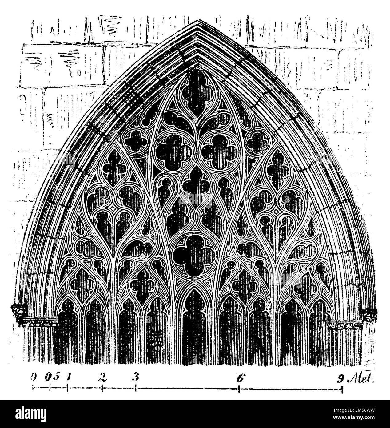 Carlisle Cathedral Window Florid Gothic English Architecture