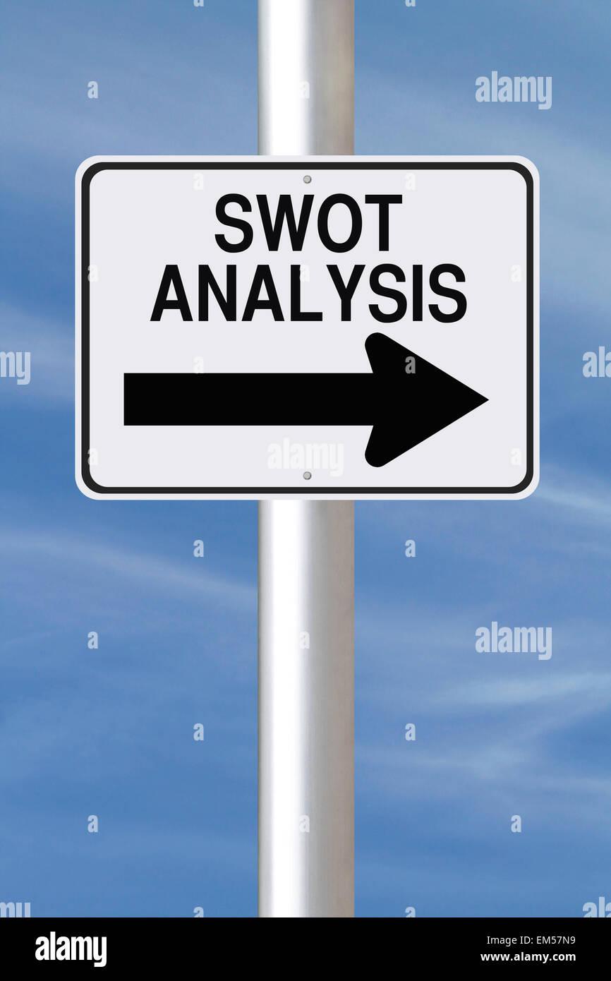 SWOT Analysis Stock Photo
