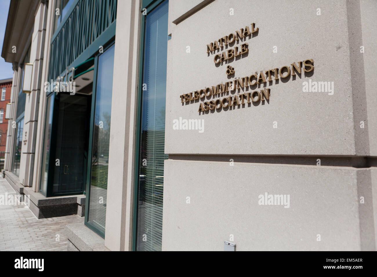 National Cable and Telecommunications Association - Washington, DC USA - Stock Image