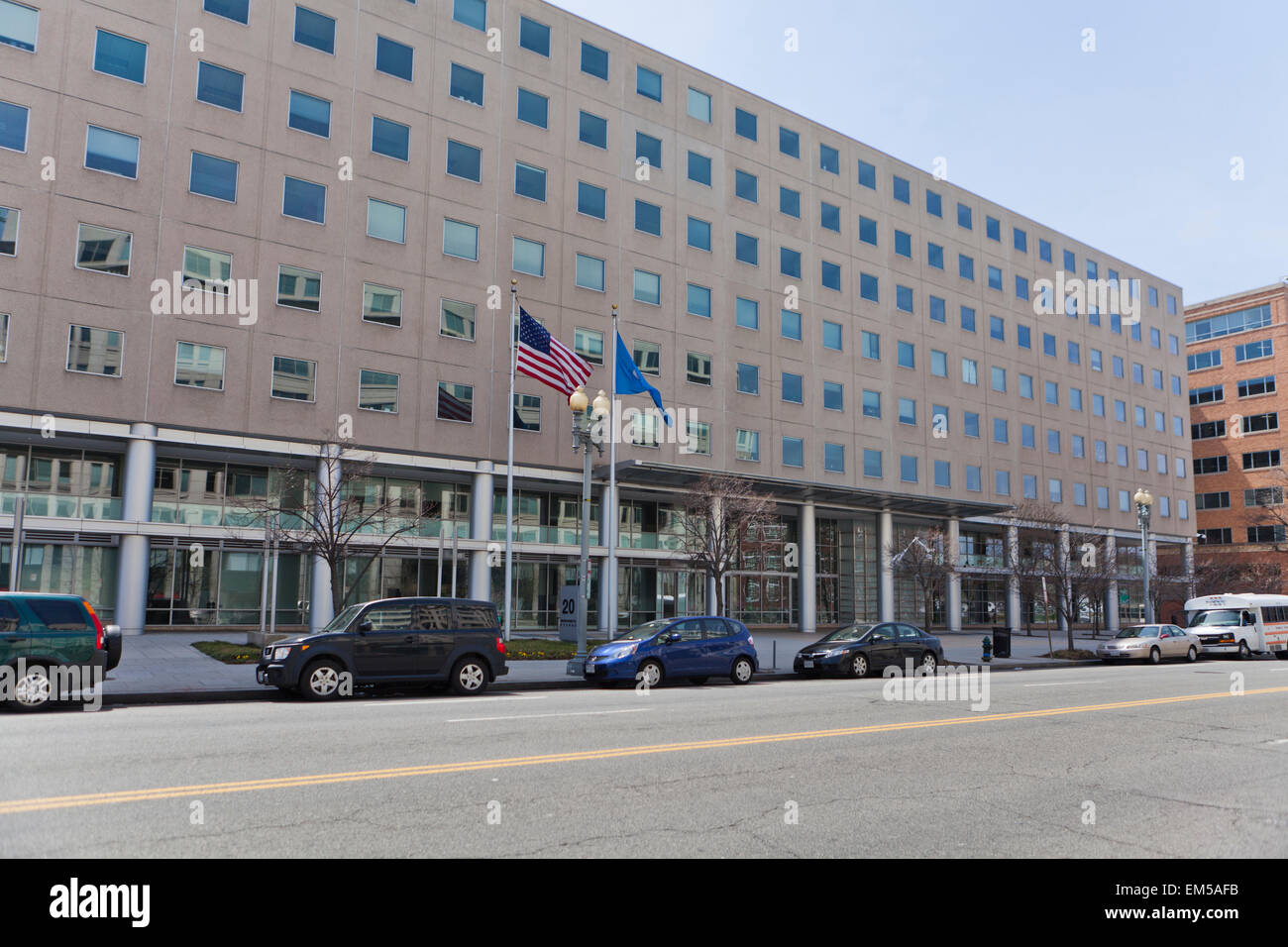 The US Citizenship and Immigration Services building - Washington, DC USA - Stock Image