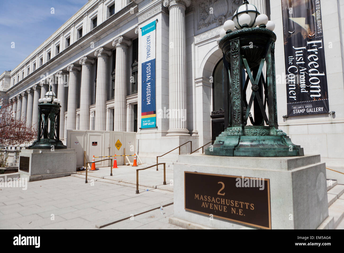 The US Postal Museum, Smithsonian Institution - Washington, DC USA - Stock Image