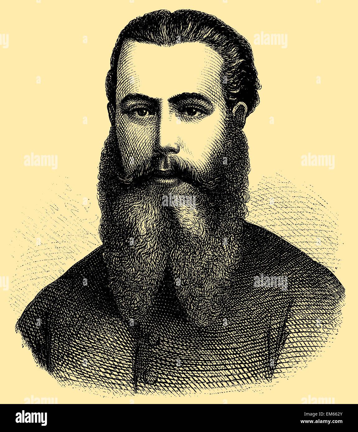 Maximilian I of Mexico (1832 – 1867), Emperor of Mexico - Stock Image