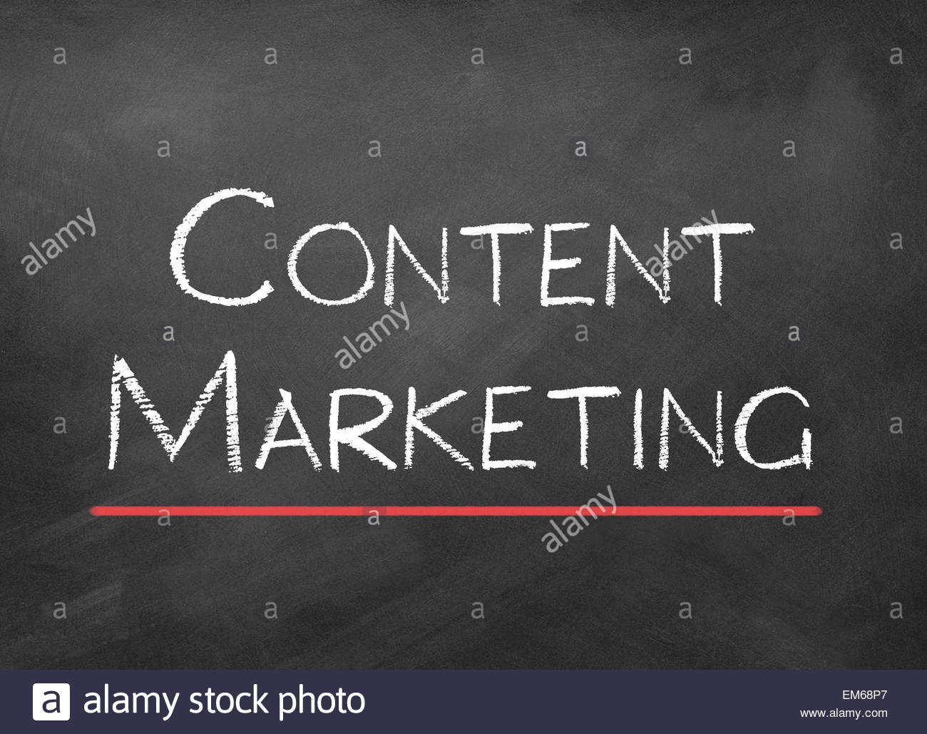 content marketing - Stock Image