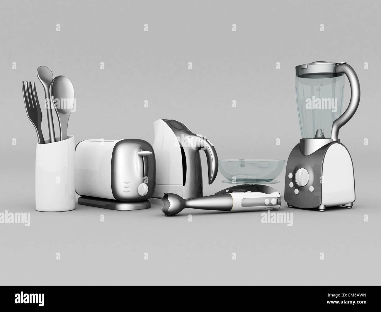 household appliances - Stock Image