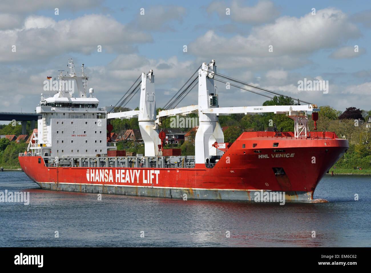 Heavy Lift Vessel HHL Venice - Stock Image