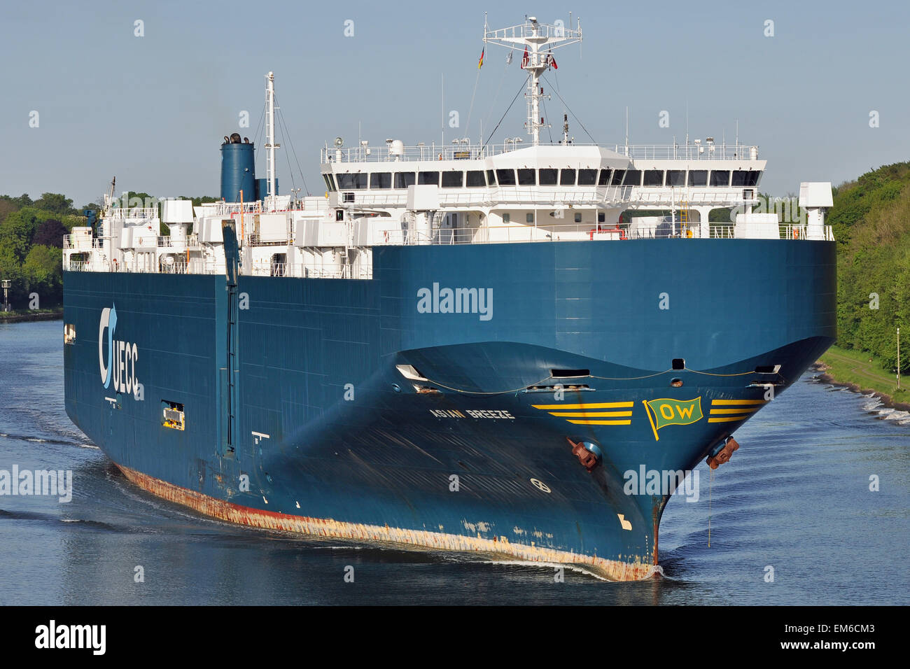 Carcarrier Asian Breeze - Stock Image