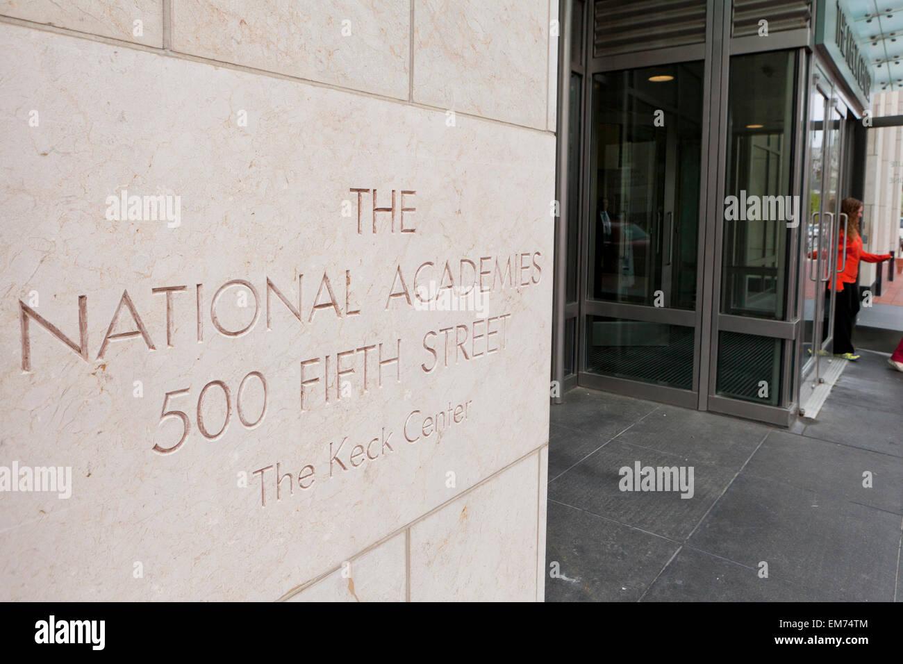 National Academy of Sciences, The Keck Center - Washington, DC USA - Stock Image