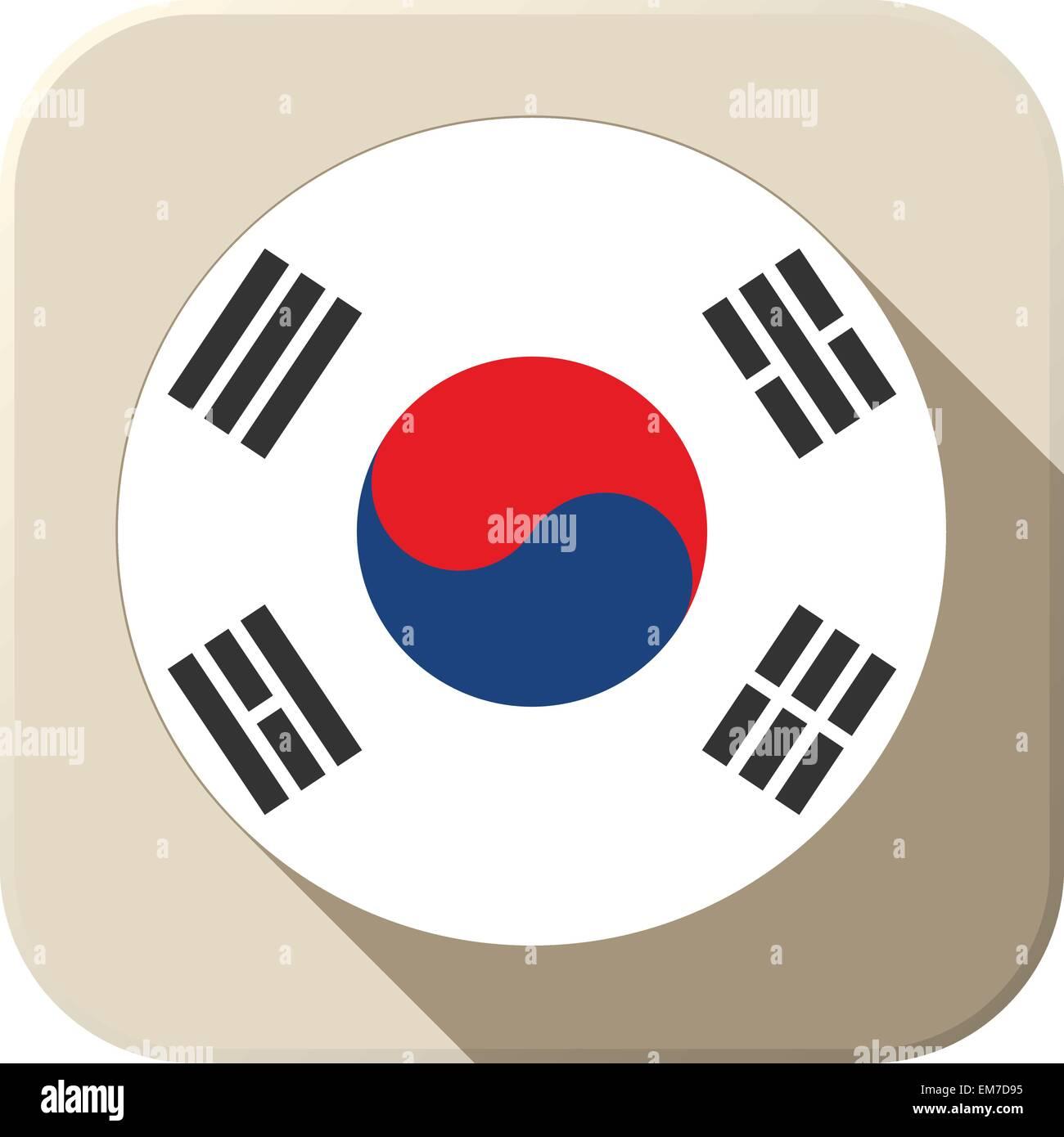 58dde9f7d0bb South Korea Map Flag Stock Photos   South Korea Map Flag Stock ...