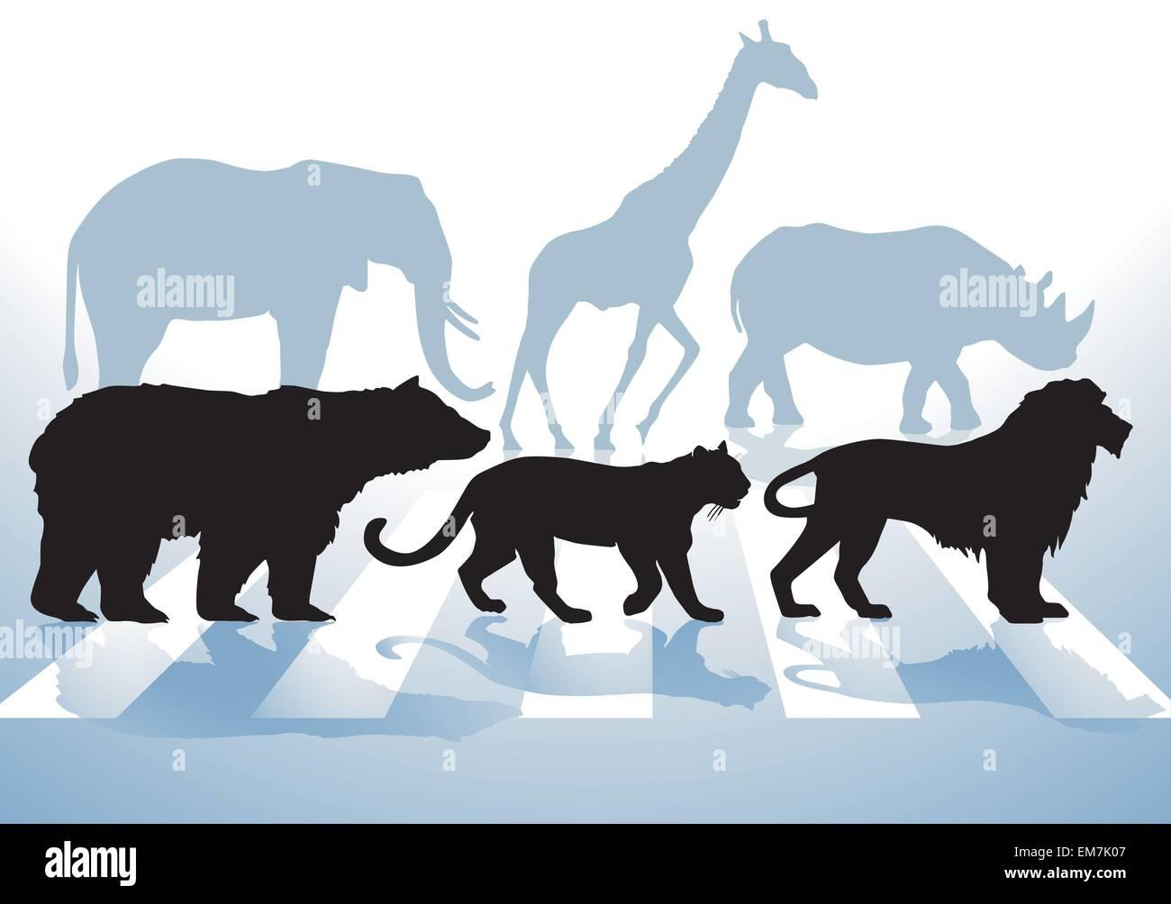 Animal Protection - Stock Vector