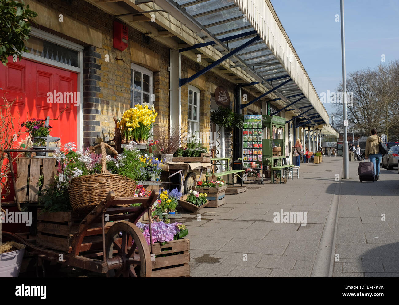 Winchester Railway Station - Stock Image