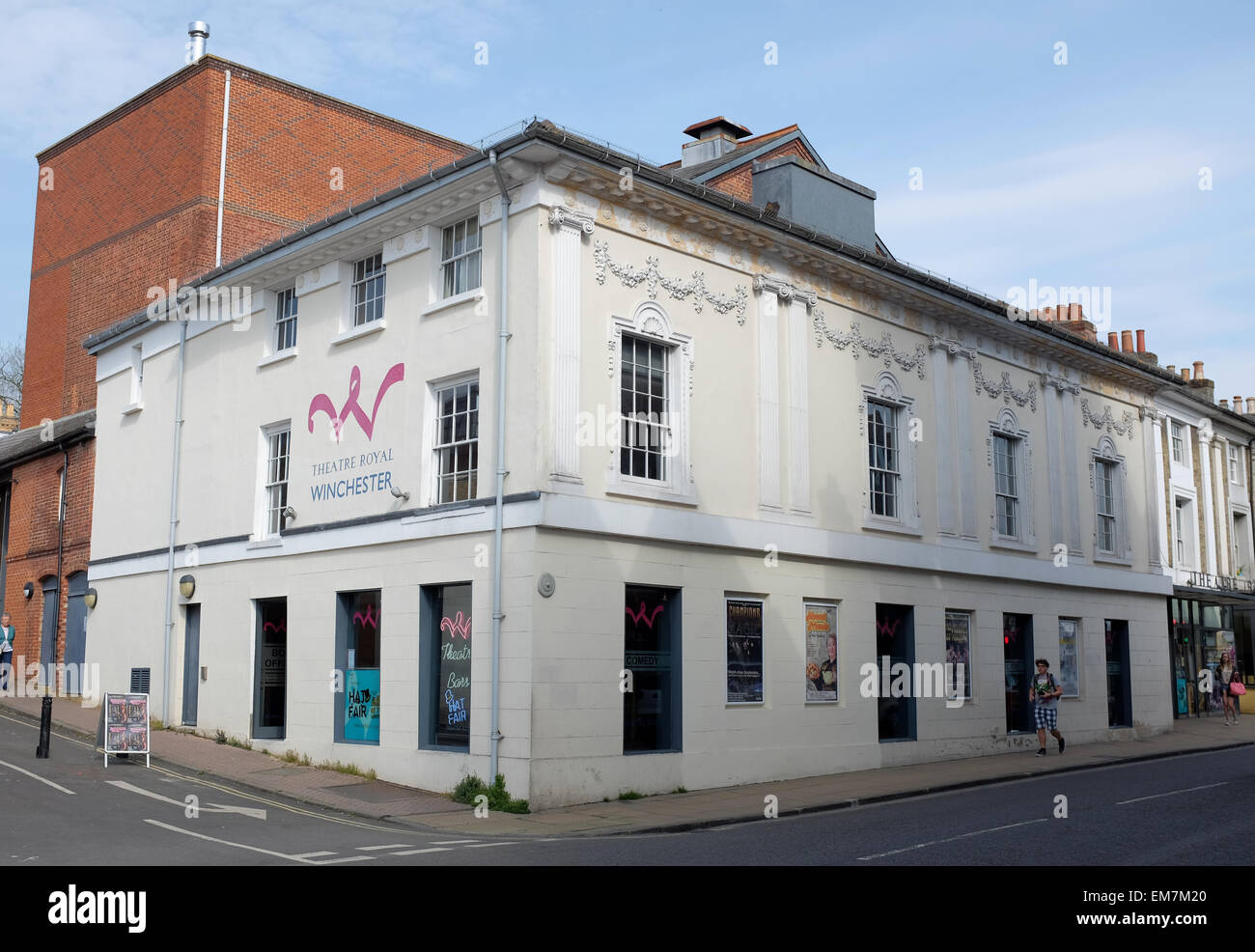 Theatre Royal Jewry Street Winchester - Stock Image