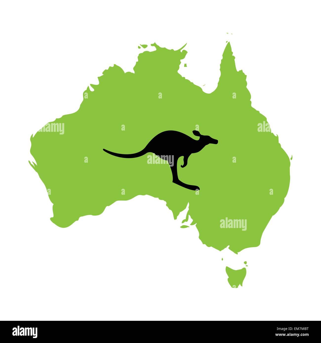 Australia Stock Vector