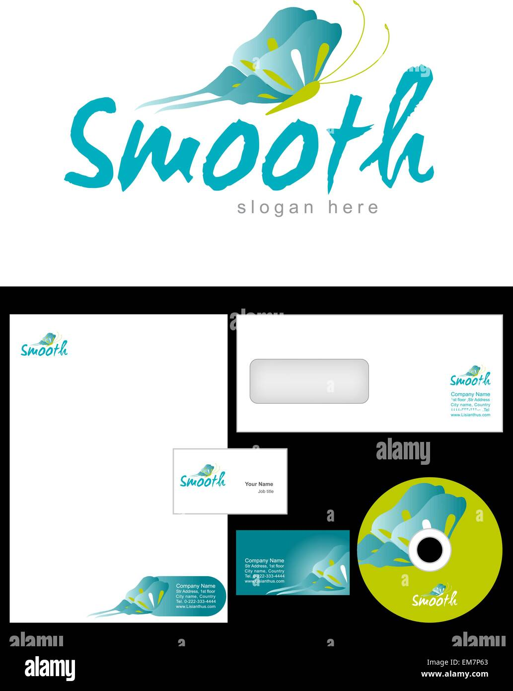 Smooth Logo Design and corporate identity package including logo ...